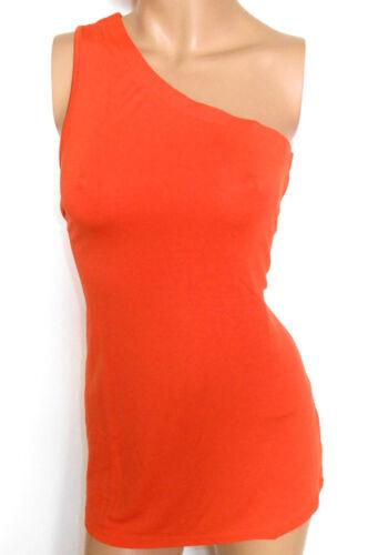 LAURA SCOTT Damen Top One-Shoulder orange Gr 42 44 NEU