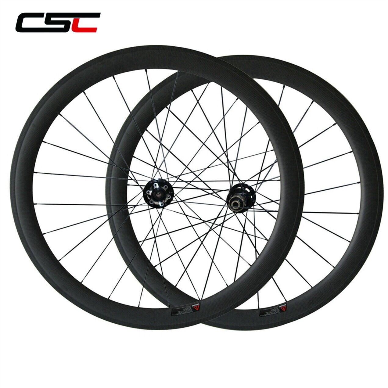 650C 50mm Disc Brake Wheels Cyclocross Tubeless Clincher Carbon Bicycle Wheelset
