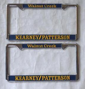 Kearney Patterson Car Dealer Walnut Creek Ca License