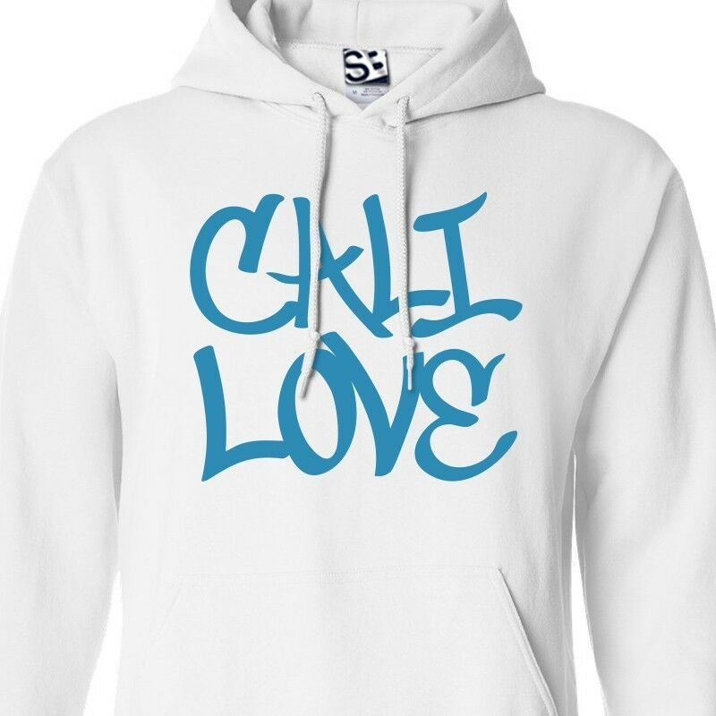 Cali Love Graffiti HOODIE - Hooded Tagger California Republic of Tag Sweatshirt