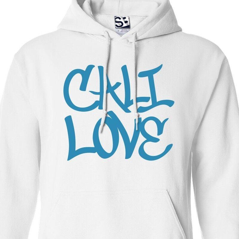 Cali Love Graffiti HOODIE - Hooded Tagger California Republic of Tag Sweatshirt
