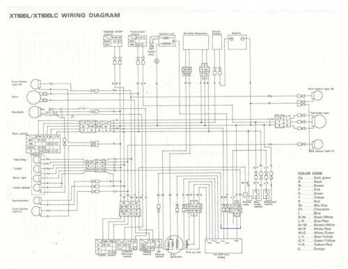 DIY AC CDI ignition for single cylinder Yamaha XT125-400