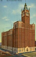 1930's-1940's Unposted Linen Postcard The Furniture Mart, Chicago,IL