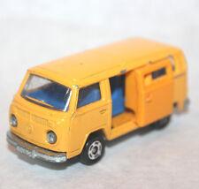 VW Microbus Tomica 1977 Tomy No.F29 1/67 scale volkswagen van bus vintage yellow