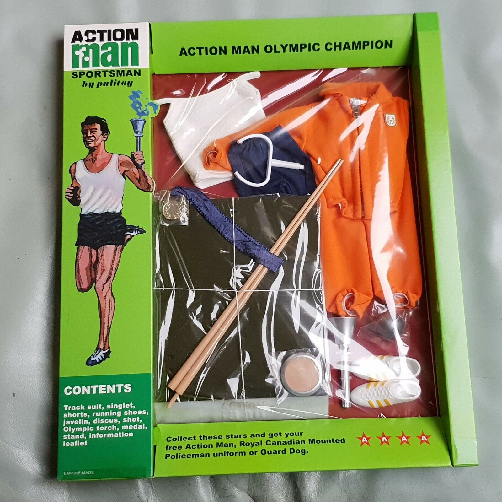 NEW  Action Man 40th. Anniversary Olympic Champion MINT