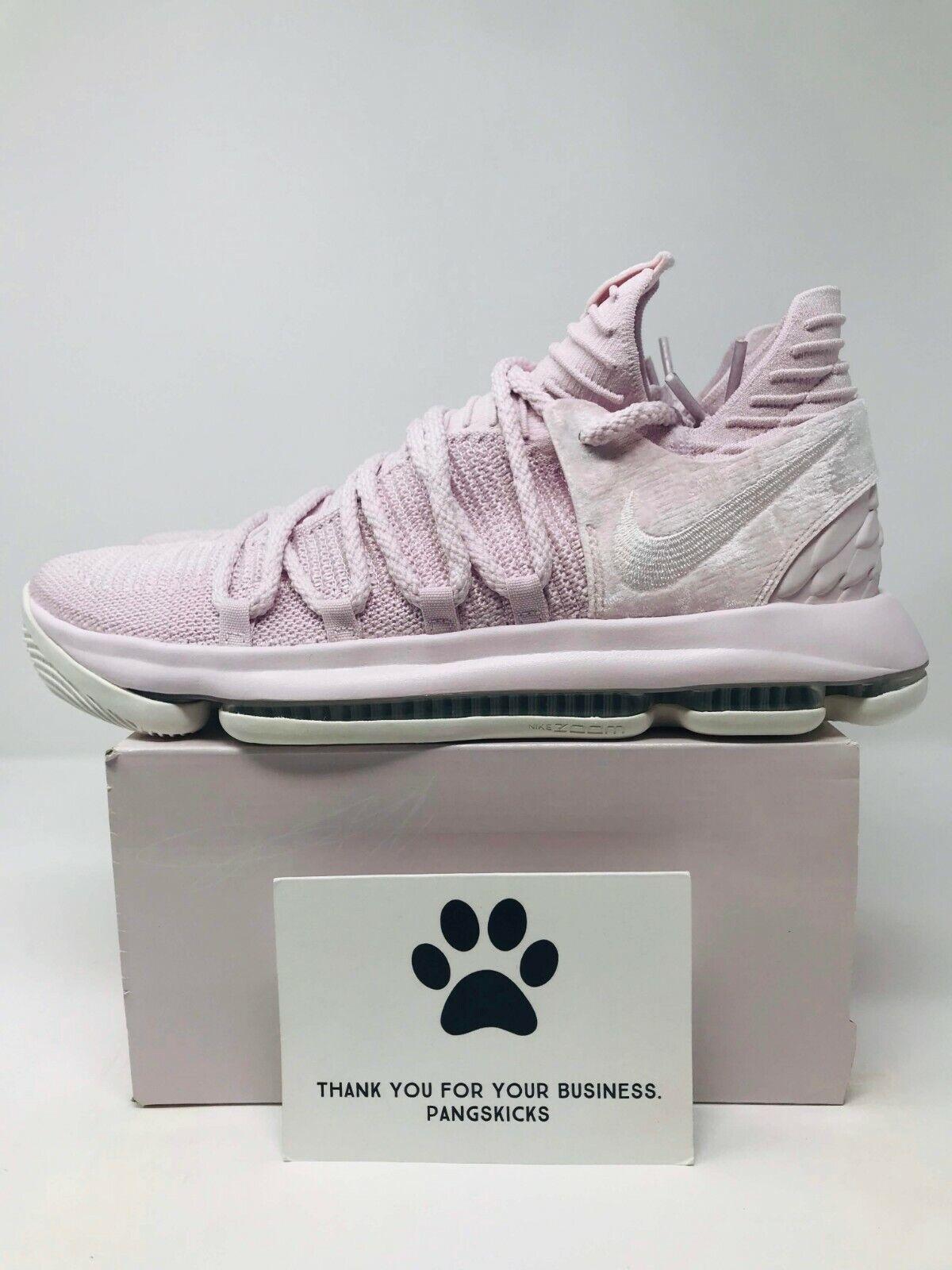 Nike Zoom KD 10 AP 'Aunt Pearl' AQ4110-600 Size 10.5-12