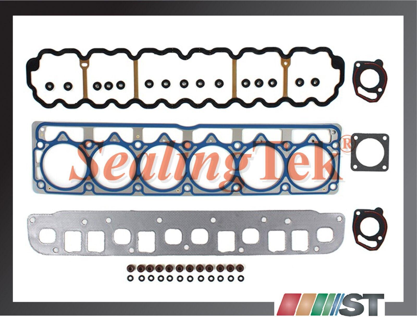 Bolts AMC motor Fit 99-06 Jeep 4.0L OHV L6 Engine MLS Cylinder Head Gasket Set