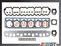 99-06 Jeep 4.0l Ohv L6 Engine Mls Cylinder Head Gasket Set Kit Vin S V Amc Motor