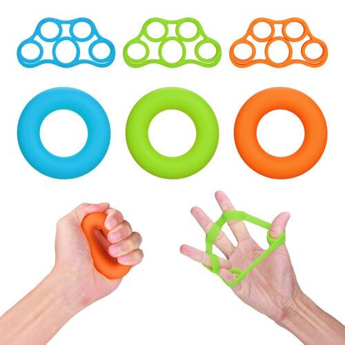 Finger Stretcher Hand Extensor Exerciser Grip Strengtheners Force Training Set