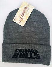 Mitchell & Ness Adult Unisex Chicago Bulls Beanie Hat EU257 CHIBUL GRY
