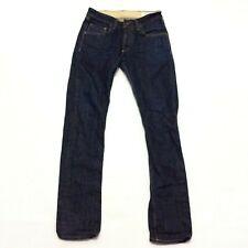 Rag /& Bone Mens Blue Denim Signature Button Fly Straight Leg Jeans 29 BHFO 6594