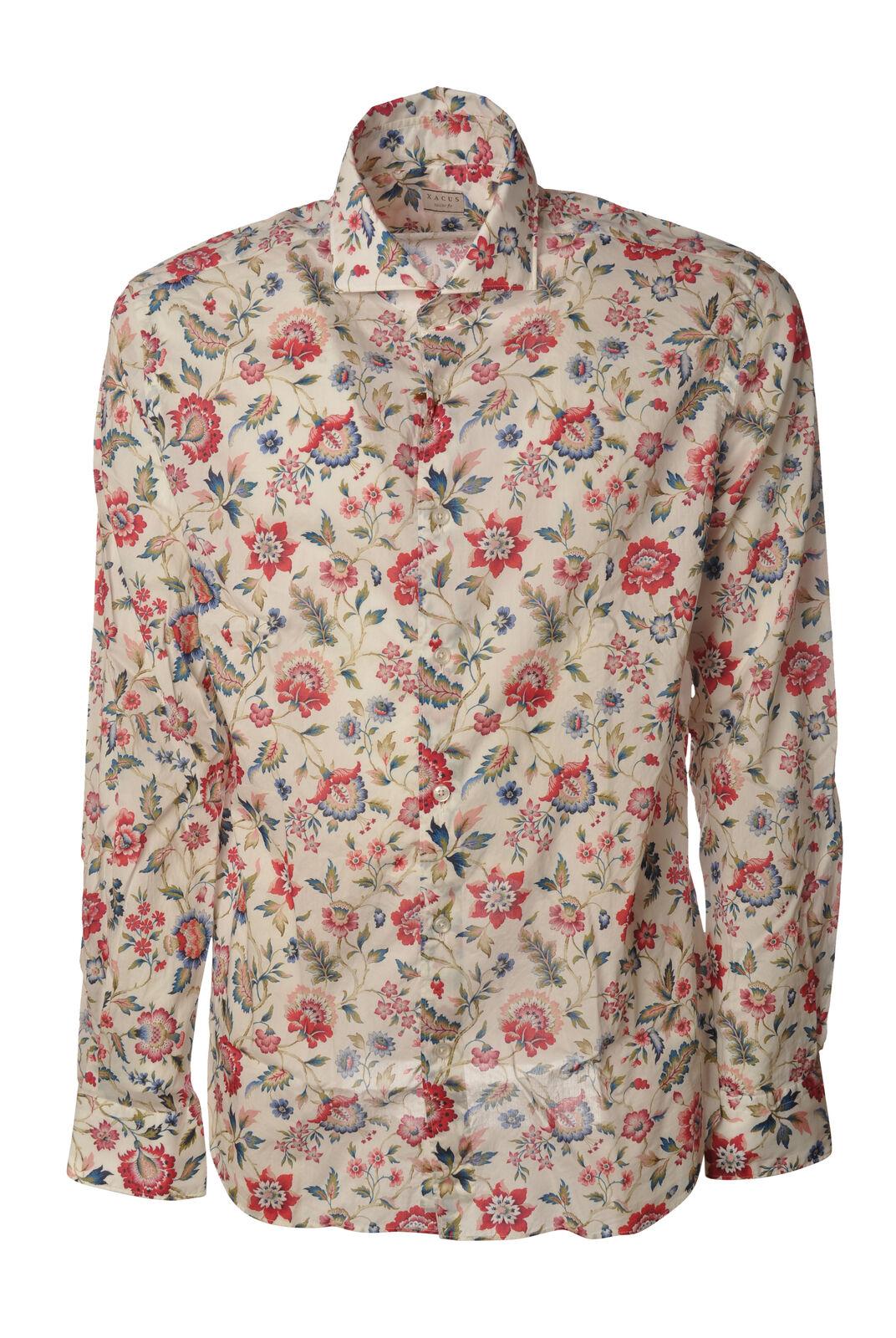 Xacus - Shirts-Shirts neck france - Woman - Fantasy - 6060018C191412