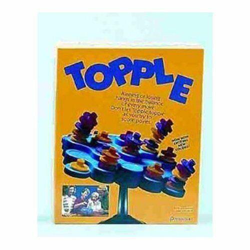 Pressman Toys topple Juego-Vintage 1992 - 2 a 4 jugadores-edades 6 Plus
