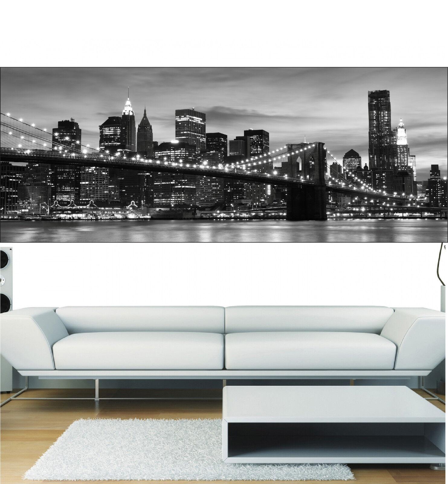 Stickers panoramique décor ( muraux New York Brooklyn réf 3650 ( décor 13 diHommes sions ) 5c1ce9