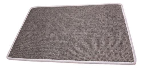 Dog Bath or Floor Mat French Bulldog Black  Approx 40x60cm Non-Slip