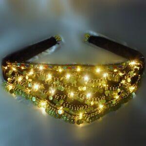 LED-Hip-Belt-Skirt-Belly-Dance-Costume-Festival-Night-Club-LED-Lights-Mini-Skirt