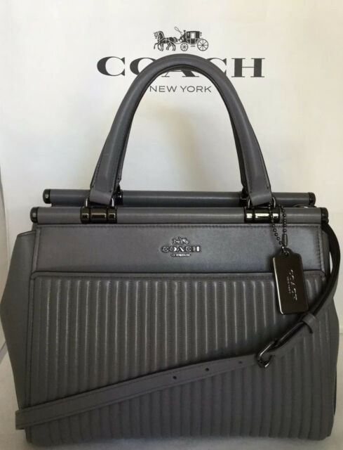 Coach 22728 Quilted Leather Grace Bag
