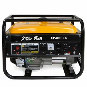 XPUSA 4000W Portable emergency Gas Generator 7hp lifan engine Home Camping RV