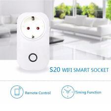 Smart WiFi Remote Control Timer Switch Power Socket EU Plug For Cellphone NEW