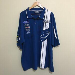 Ford-V8-Supercars-Racing-Shirt-Mens-6XL-Signed-Winterbottom-Dumbrell-Richards