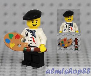 NEW LEGO ARTIST w// EASEL PALETTE /& PAINT LOT brush art supplies minifig painter