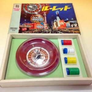 Vintage-Nintendo-Toy-034-Roulette-034-NEW-retro-Japan-F-S