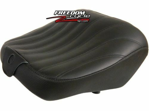 2008-2018 KAWASAKI CONCOURS 1400 CORBIN REAR SEAT ONLY SADDLE BLK LEATHER NEW!