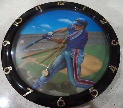 Baseball Batter Stadium Field Wall Clock Fan Apparel & Souvenirs Baseball-other
