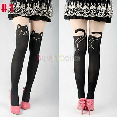 Personality Print Woman Pantyhose Tattoo Stockings Tights Hot Style Trouser