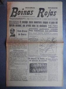 BATALLA-EBRO-MORA-DE-EBRO-BENISANET-PERIoDICO-GUERRA-CIVIL-BOINAS-ROJAS-6-11-38
