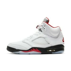 Nike-Air-Jordan-5-retro-fire-red-GS-Size-7
