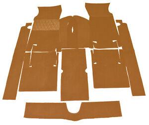 Cognac Velours Carpet Kit For Fiat 124 Sport Coupe 1967 1972 Carpet Ebay