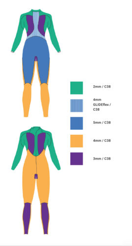 Details about  /10/% OFF BRAND NEW Zoot Sports Wahine 1 Triathlon Women/'s Wetsuit