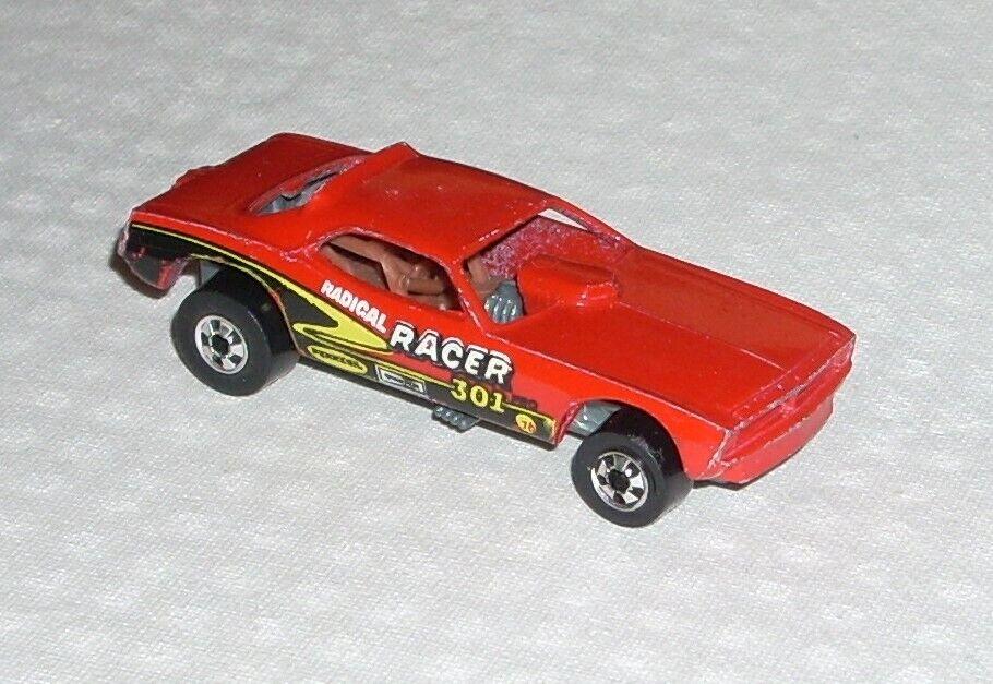 Vintage 1982 Hot Wheels Top Eliminator Barracuda Funny Car Red Made in France