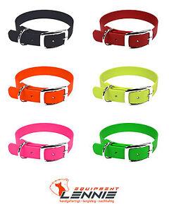 BioThane-Hunde-Halsband-Halsung-9-mm-mit-Dornschnalle-oder-Doppelstegschnalle