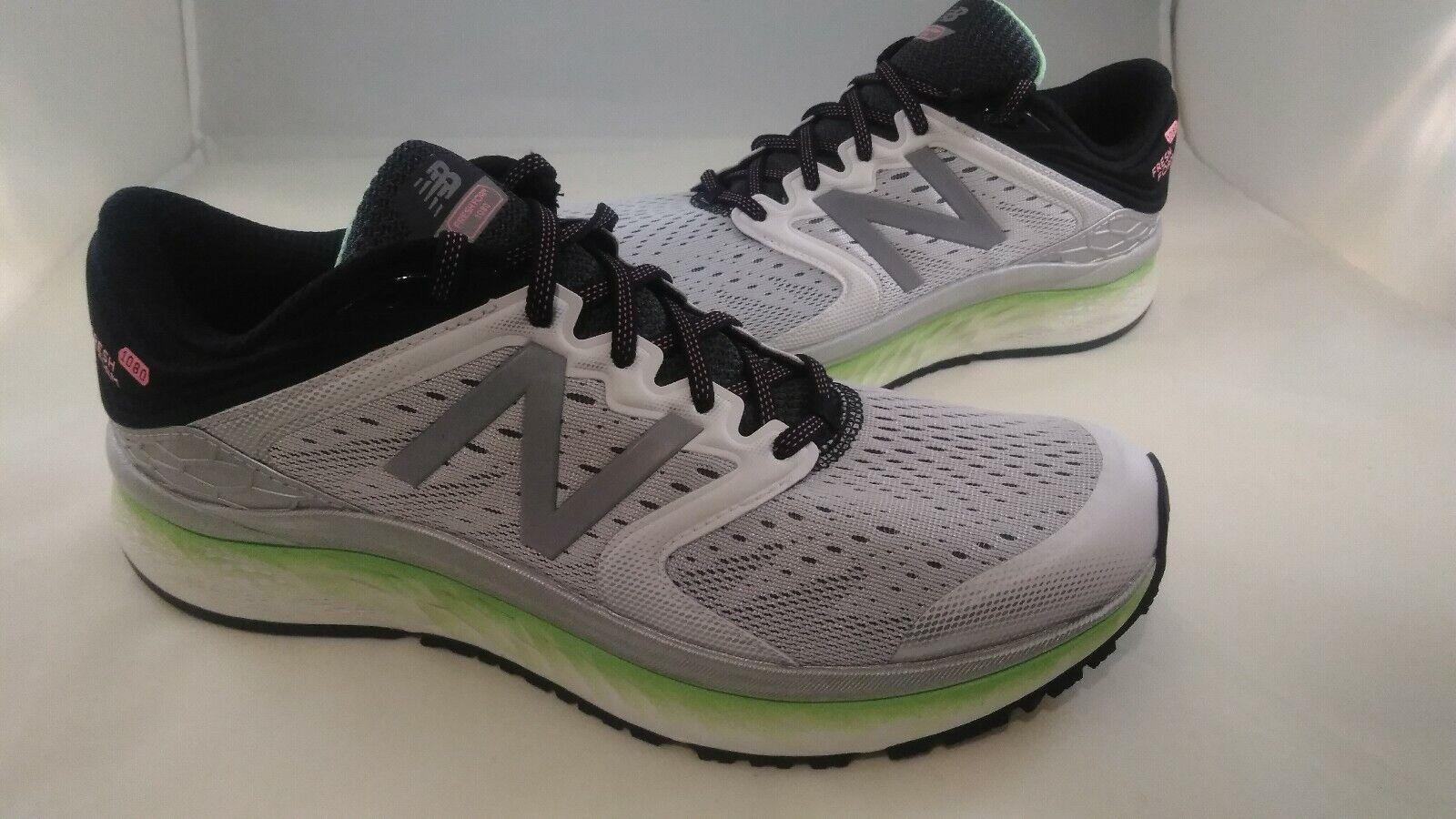 NUOVO NUOVO  BILANCIO Fresh Foam 1080 v6 Running scarpe grigio Volt yeezy RARE Dimensione 12  economico e di alta qualità
