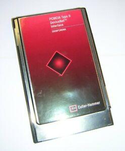 Eaton-Cutler-Hammer-PCMCIA-DeviceNet-Interface-D930PCMDNA-Scanner-PC-Card