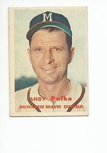 ANDY-PAFKO-1957-Topps-card-143-Milwaukee-Atlanta-Braves-EX