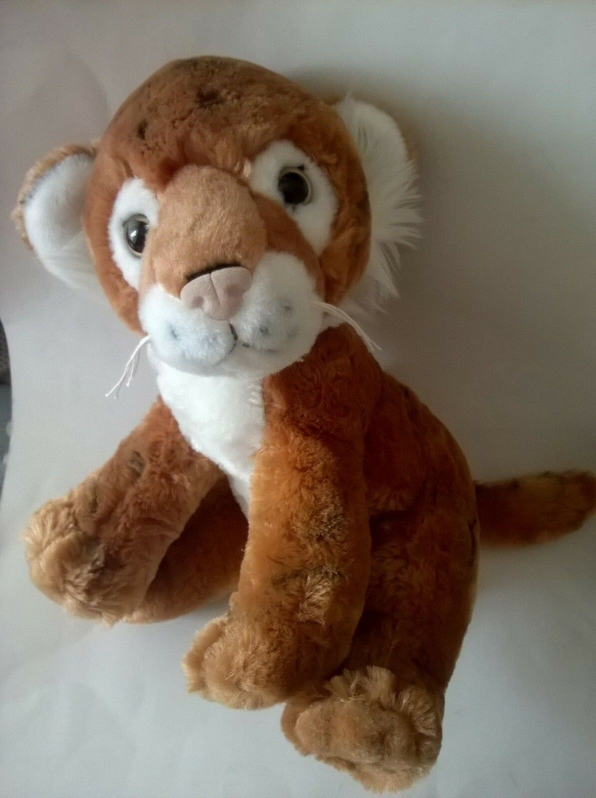 LION SOFT TOY LONGLEAT RAVENSDEN ZOO ANIMAL PLUSH WILD ANIMAL SAFARI