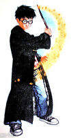 13.5 Harry Potter Sorcerer Wand Fabric Applique Iron On Character