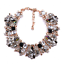 Women-039-s-Crystal-Rhinestone-Choker-Statement-Pendant-Chunky-Bib-Necklace-Jewelry thumbnail 18