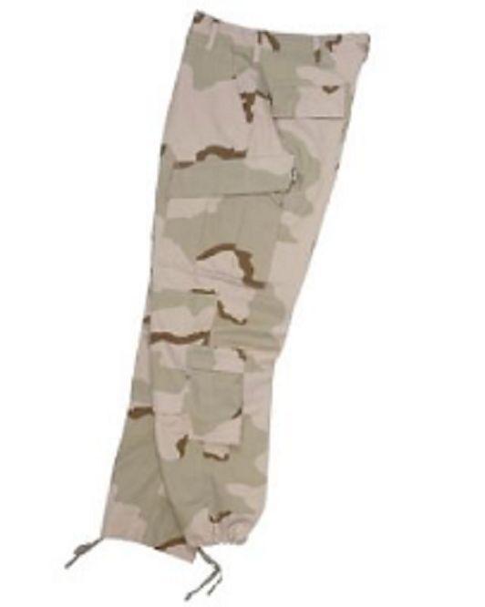 EE.UU. Desierto Dcu Acu Combate Táctica Ejército Ripstop Pantalón de Campo XLR