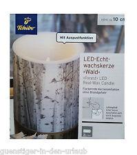 TCM Tchibo LED Kerze Echtwachskerze Wachskerze Ausschalten durch Auspusten