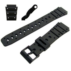 Replacement-Watch-Strap-17mm-To-Fit-Casio-SDB500W-TRI10W-TS100