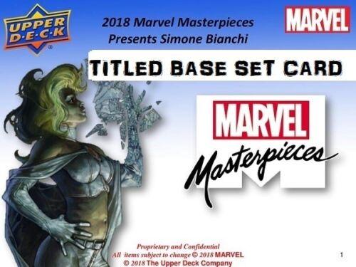 58 Professor X 2018 Marvel Masterpieces BASE SET #//1499 Tier 2