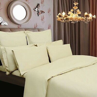 White Egyptian Cotton 400 Thread Count 12/'/' Deep Fitted Sheet King Bed Size