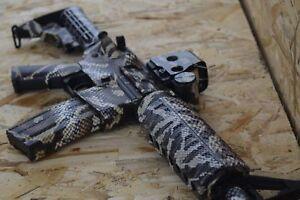 ES-CAMO-Snake-Wrap-Vinyl-Skins-for-Rifle-12-patterns-Camouflage-for-Gun