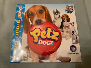 Petz-Dogz-2006-PC-Computer-CD-Video-Game-Wendy-039-s-Kids-Meal-Disc-One-BRAND-NEW