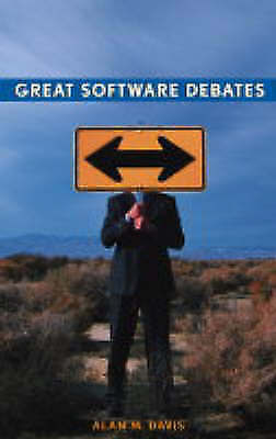 1 of 1 - Great Software Debates (Practitioners) by Alan M. Davis