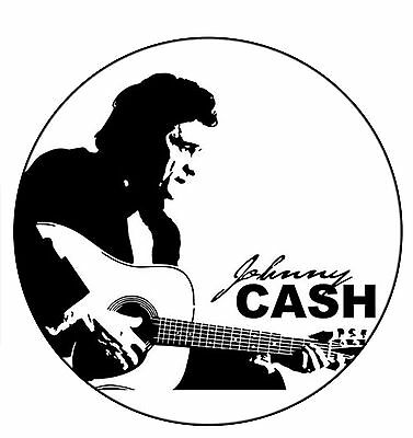 parche Johnny Cash johny rock guitar patch fire music legend sew iron clasico
